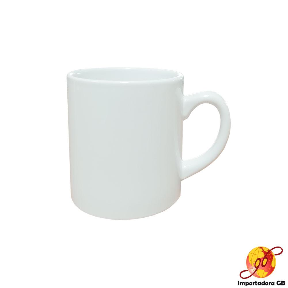 Jarro 6 onzas cerámica blanco