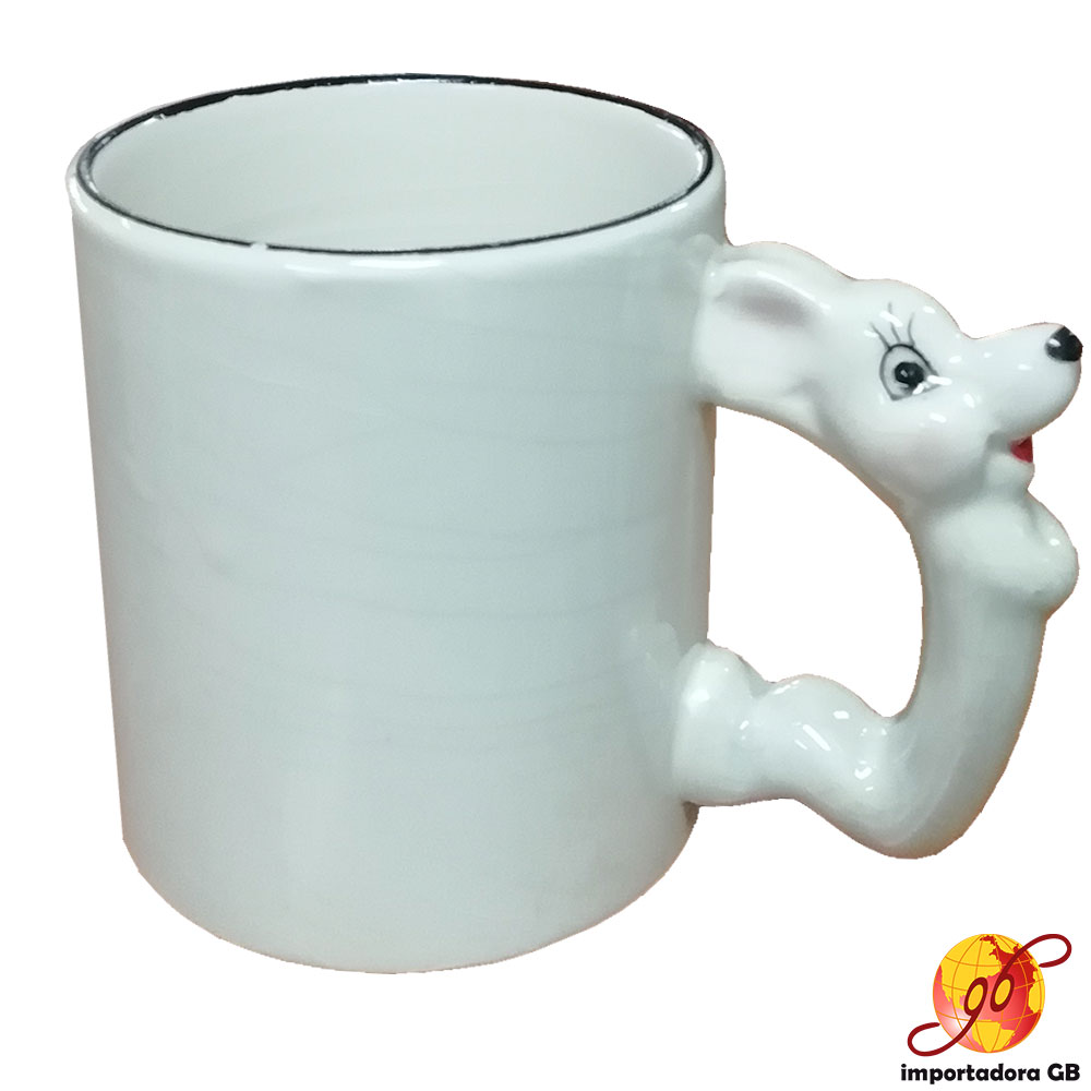 Jarros con figura de animal 11oz