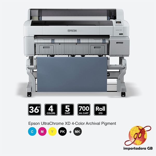Plotter de impresión EPSON SURE COLOR serie T7270 DEMO