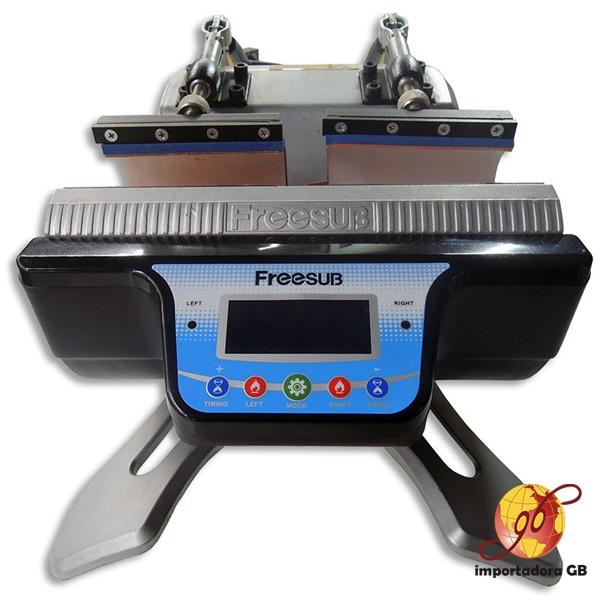 Máquina Estampadora Sublimación Estampadora FREESUB para 2 Jarros simultáneamente