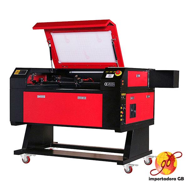 Maquina de corte y grabado laser