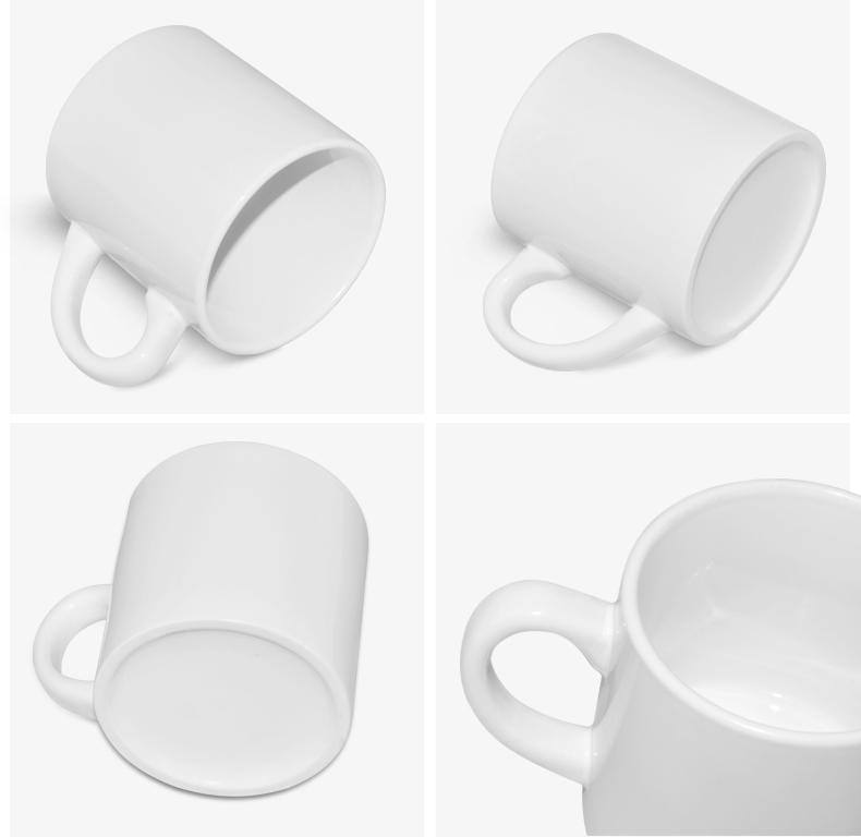 Taza de cafe Blanco para Sublimar