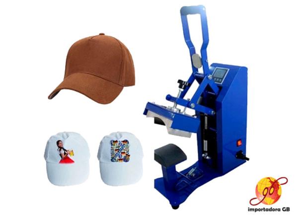 Estampadora de gorras Semiautomática MAXPRESS CP2815S