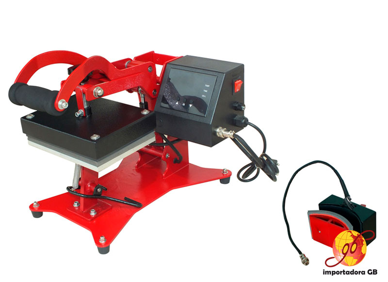 Máquina Estampadora Sublimación para Gorras