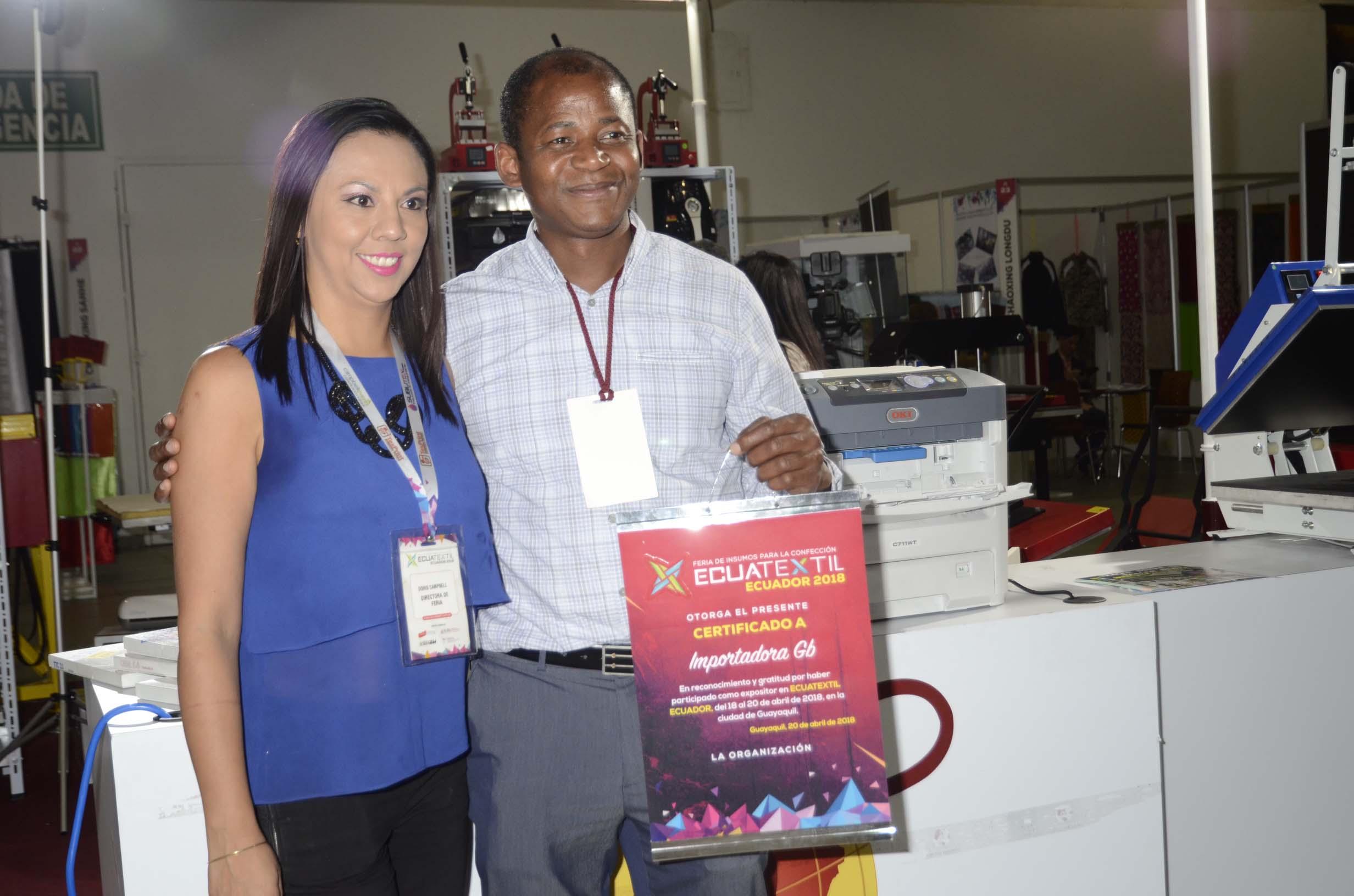 Feria ecuatextil 2018