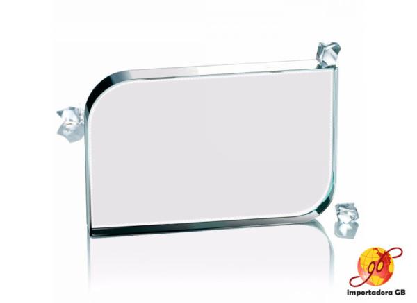 Vidrio lados redondeados para Sublimación Pisapapeles
