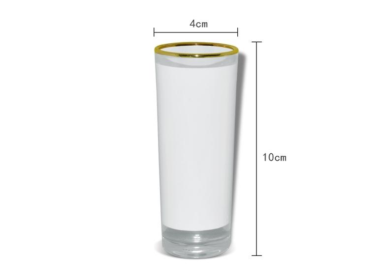 Shots de cristal para Sublimar