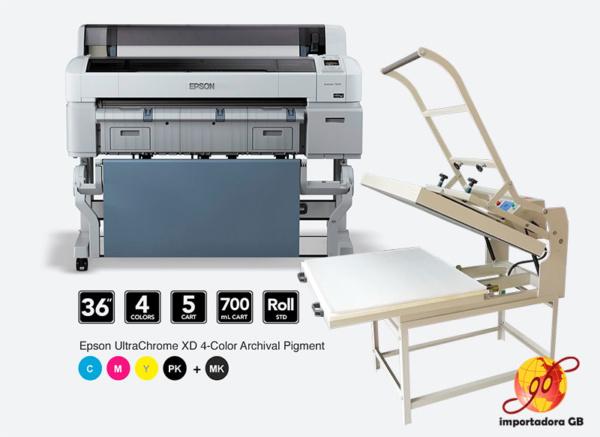 Plotter Epson T7270 + Plancha 100×80