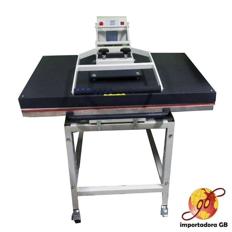 Máquina Estampadora Sublimación plana manual con mesa 70x100