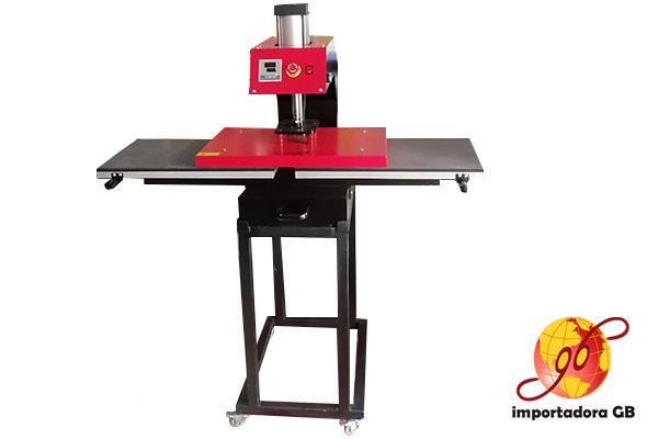 Máquina Estampadora Neumática 2 mesas deslizantes