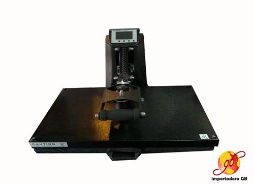 Estampadora plana Semiautomática