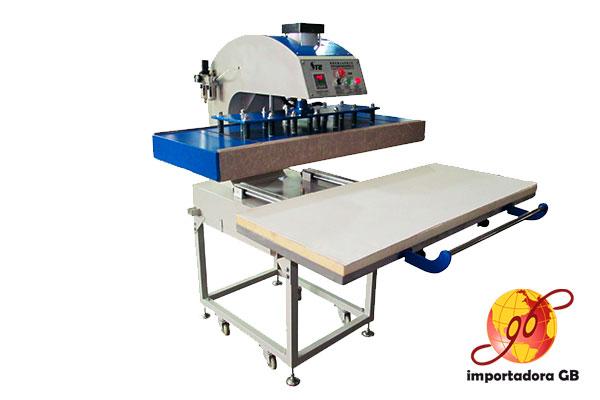 Máquina Estampadora Sublimadora Neumática con Mesa de 60x130cm