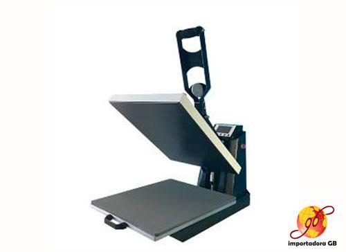 Máquina Estampadora Sublimación plana semiautomatica mesa deslizante