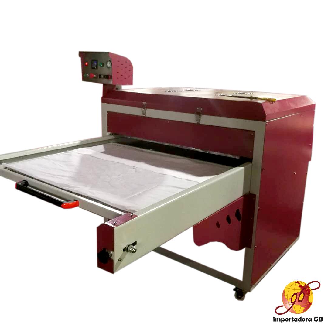 Maquina estampadora sublimación plancha roja gran formato