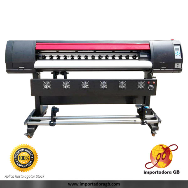 Plotter de impresión para Sublimación o Ecosolvente ColorJet 1.30mt